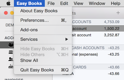 easybooks_mac_menu_bar
